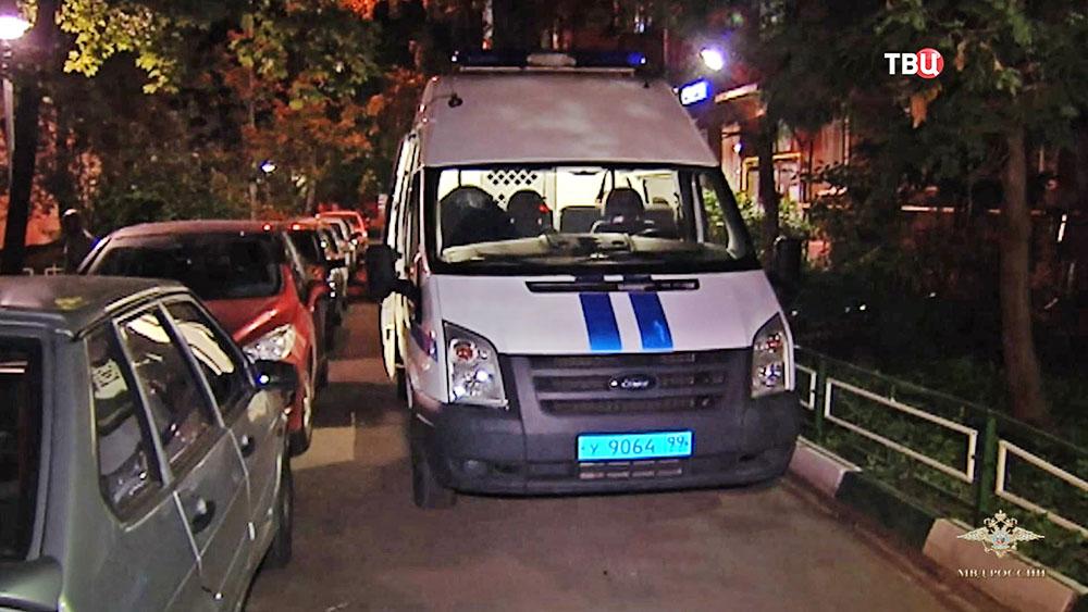 Автомобиль полиции в Москве