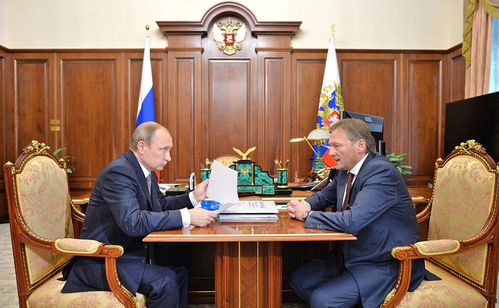 Путин продлил полномочия бизнес-омбудсмена Титова