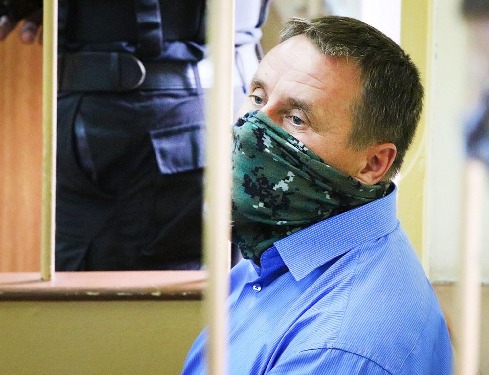 Руководитель управления собственной безопасности Главного управления межведомственного взаимодействия и собственной безопасности СК РФ Александр Ламонов