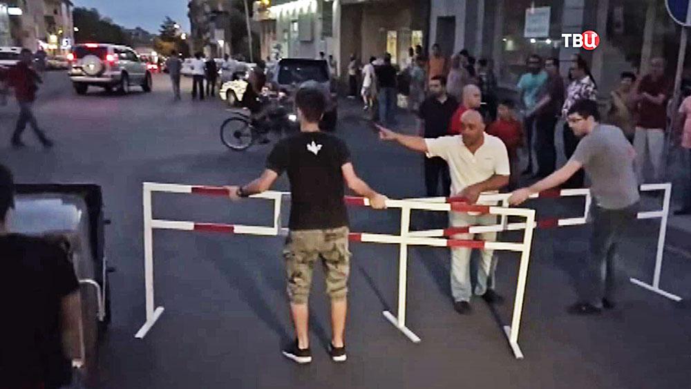 Действия аппазиции в Армении