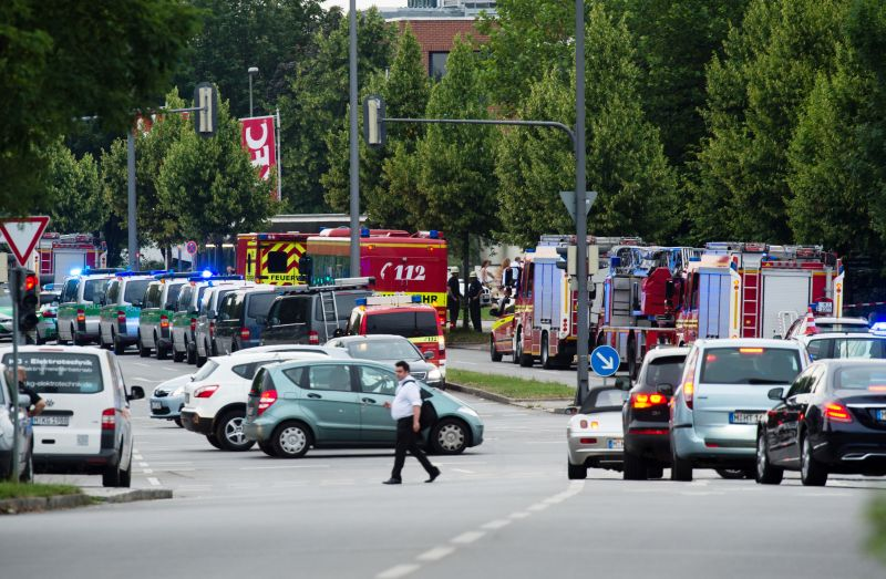 Полиция Мюнхена