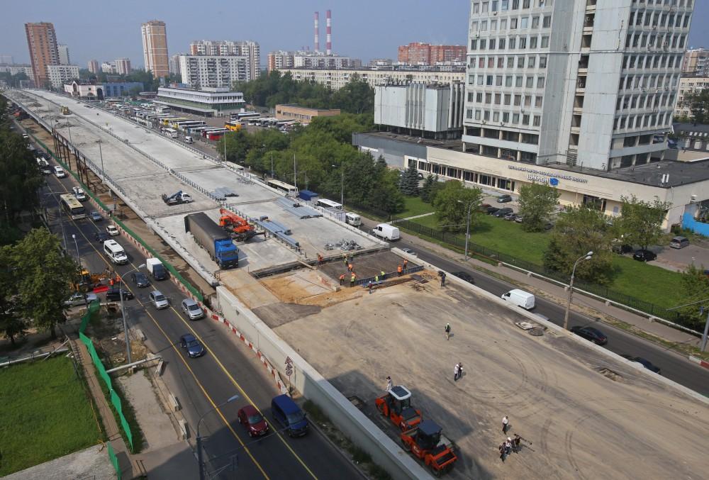 Реконструкция Щелковского шоссе