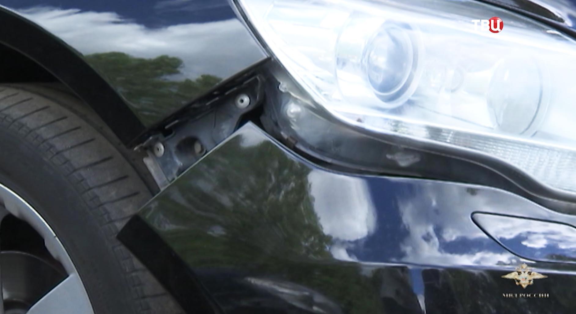 Повреждение на автомобиле