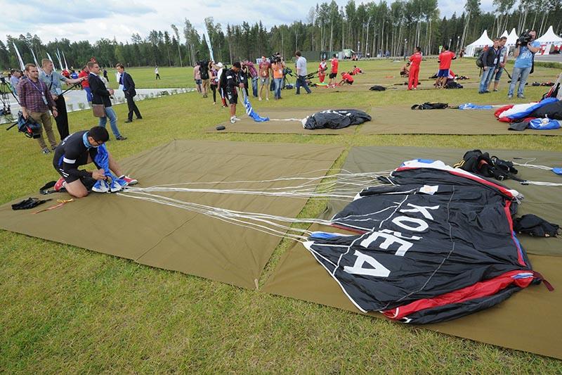 Чемпионат мира среди военнослужащих по парашютному спорту