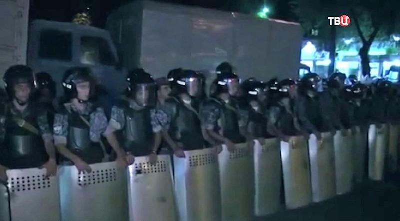 Акция оппозиции в Ереване