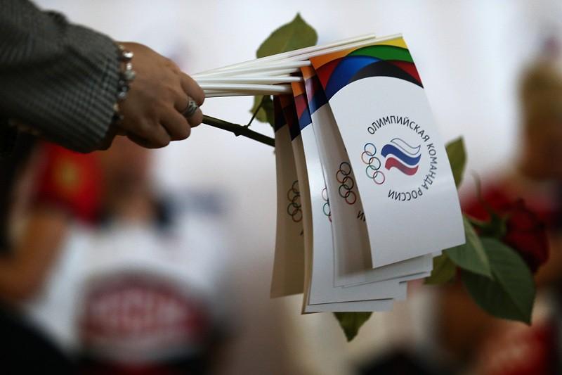 """Около 70 российских олимпийцев вылетели из """"Шереметьево"""" в Рио"""