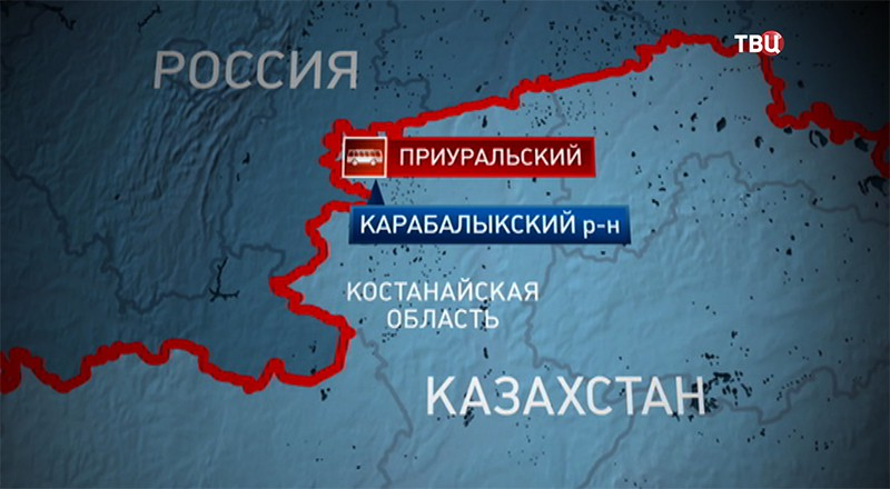 ДТП в Казахстане