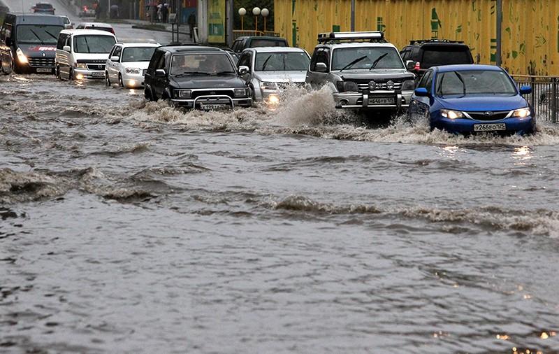 Наводнение в Новосибирске