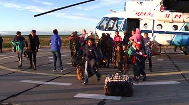 Эвакуация жителей Ямала