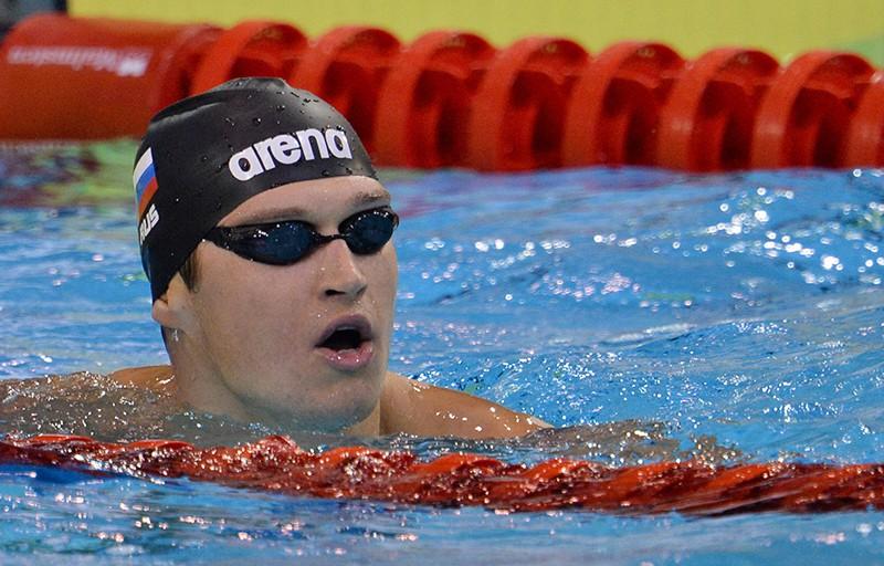 Российский спортсмен Никита Лобинцев
