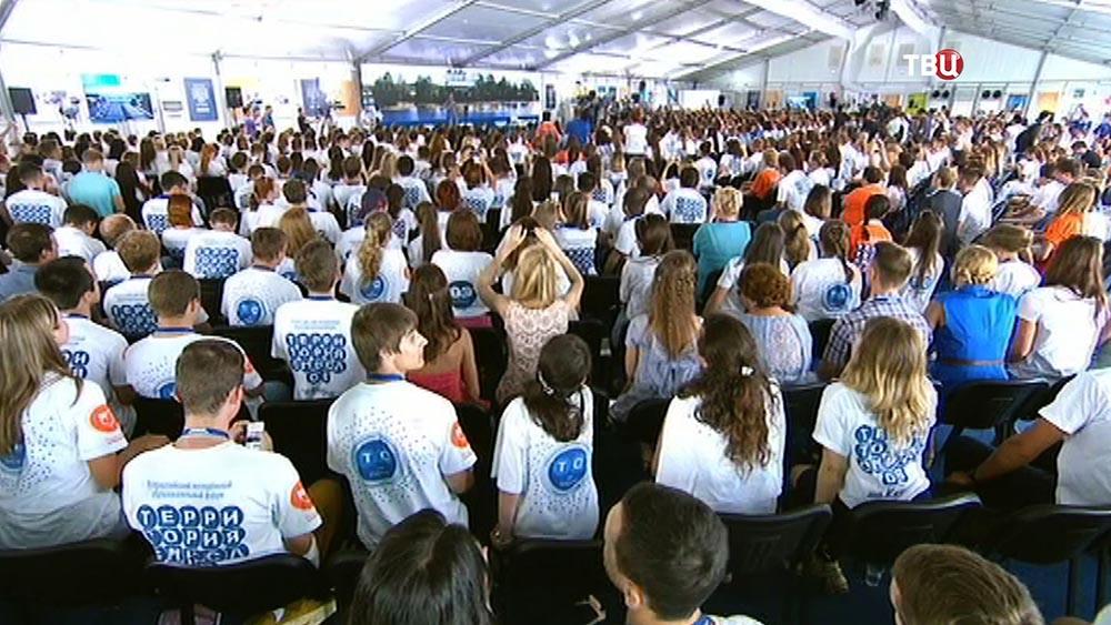 """Всероссийский молодёжный образовательный форум """"Территория смыслов на Клязьме"""""""