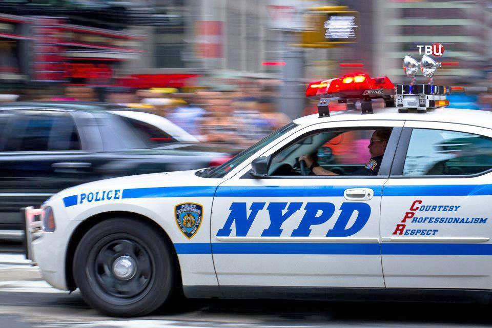 Полиция США в Нью-Йоркске