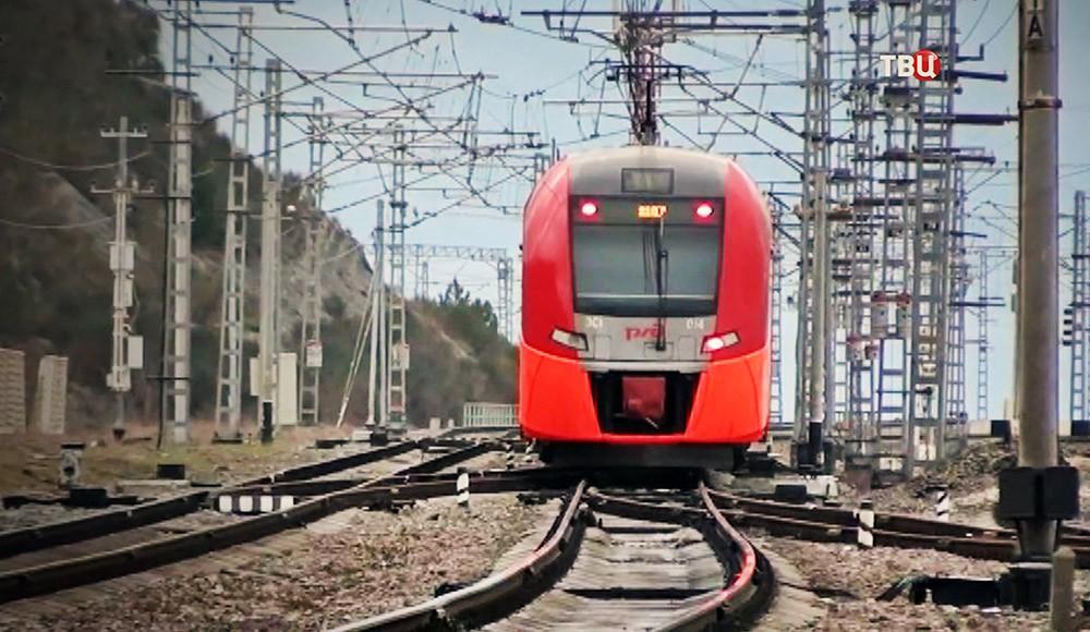 """Поезд """"Ласточка"""""""