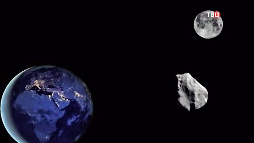 Астероид на орбите Земли
