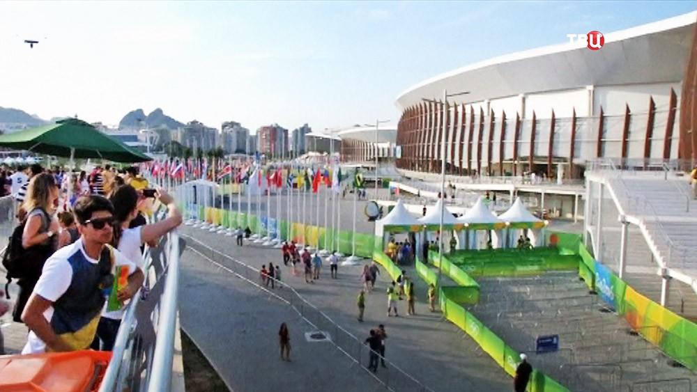 Болельщики на Олимпийских играх в Рио-де-Жанейро