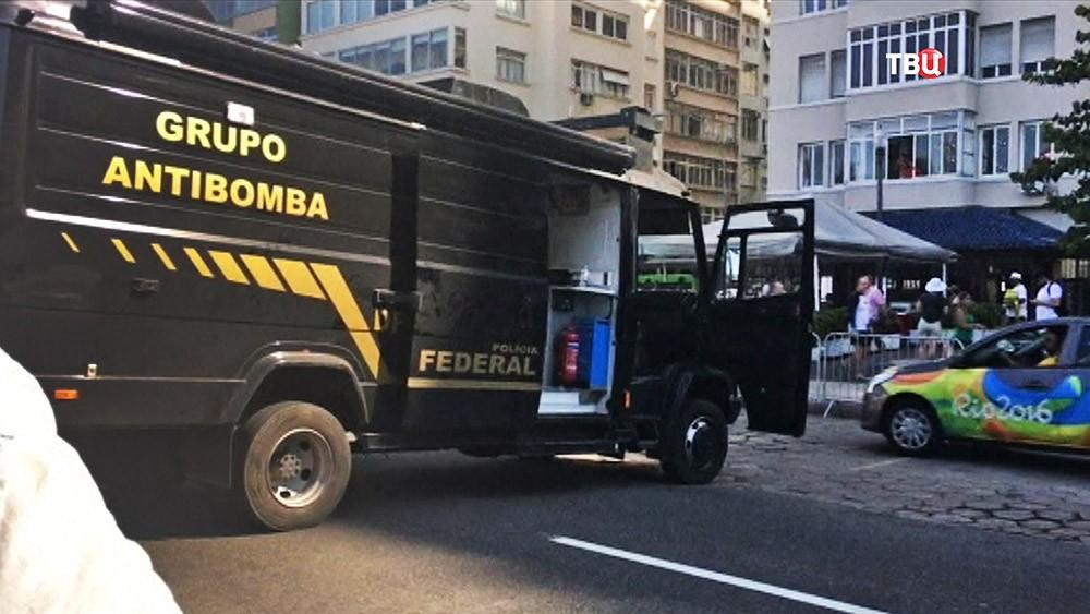 Взрваотехники на Олимпийских играх в Рио-де-Жанейро