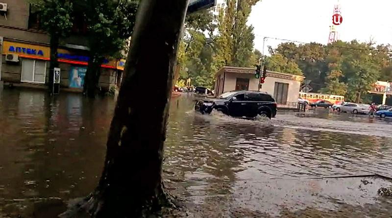 Последствия урагана в Одессе
