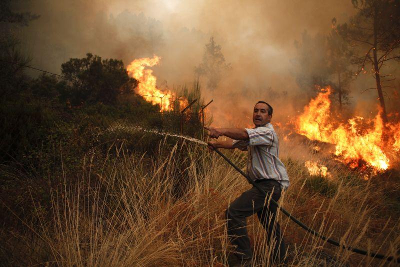 Пожары в Португалии
