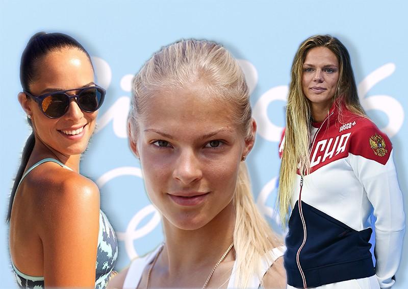 Попки алимпийских спортсменок фото из россии фото 127-399