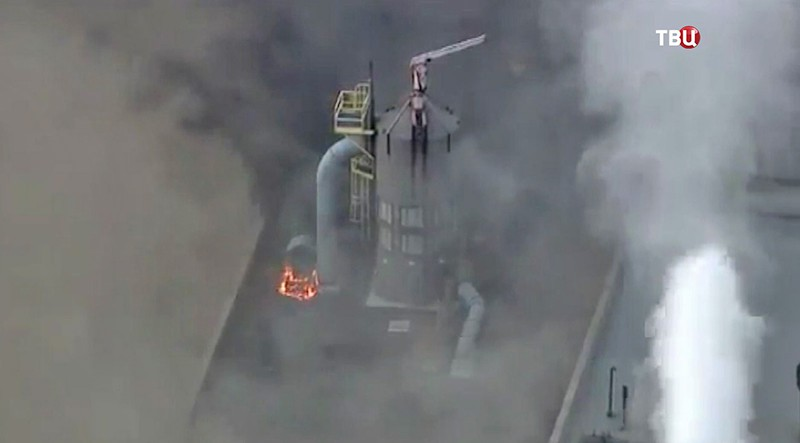 ВСША взорвана крупная электростанция