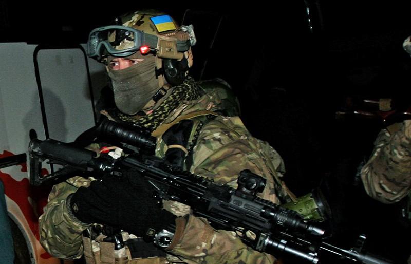 Спецназ ВС Украины