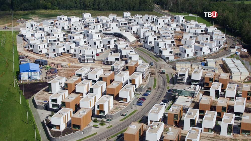 Строительство поселка