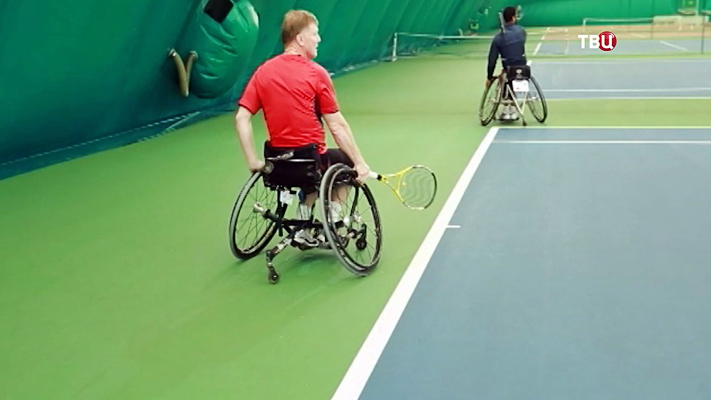 Тренировка паралимпийцев