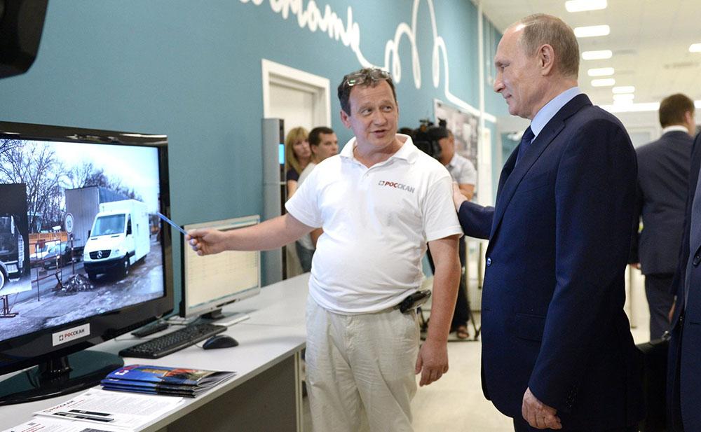 Президент России Владимир Путин осмотрел новый терминал аэропорта Волгограда