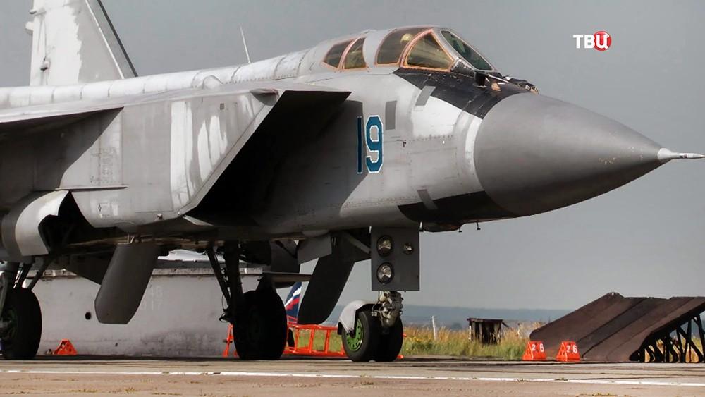 Истребитель МиГ-31 ВКС России