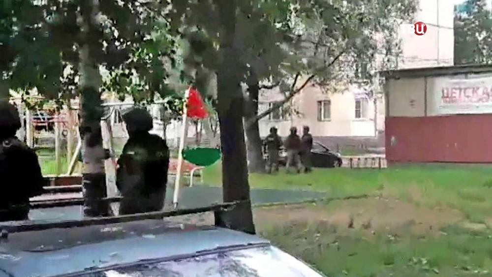 Силовая спецоперация в Санкт-Петербурге