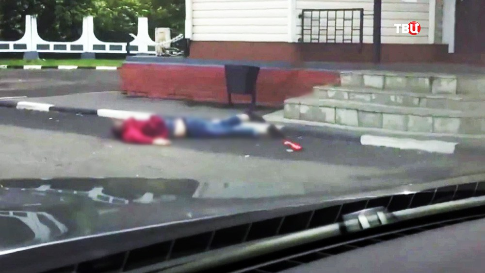 Тело напавшего на пост ДПС на Щелковском шоссе