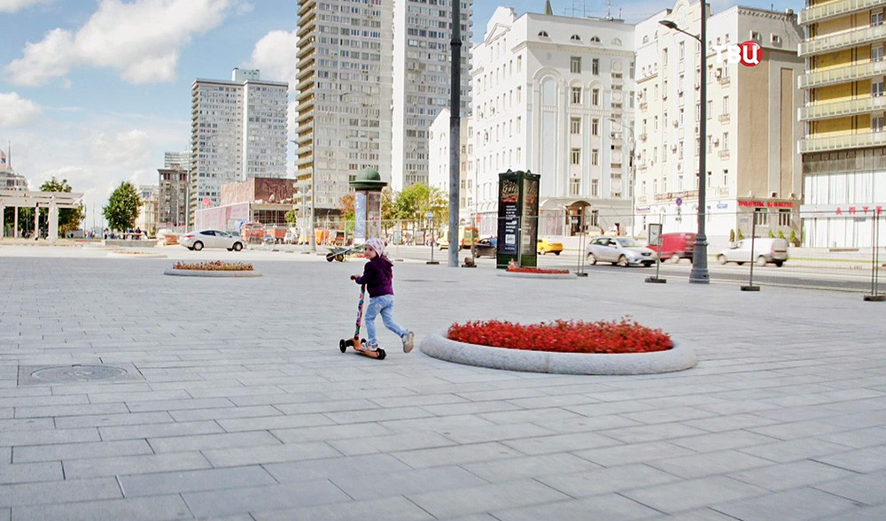 Реконструкция улицы Новый Арбат