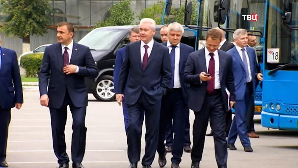 Сергей Собянин посетил Тулу
