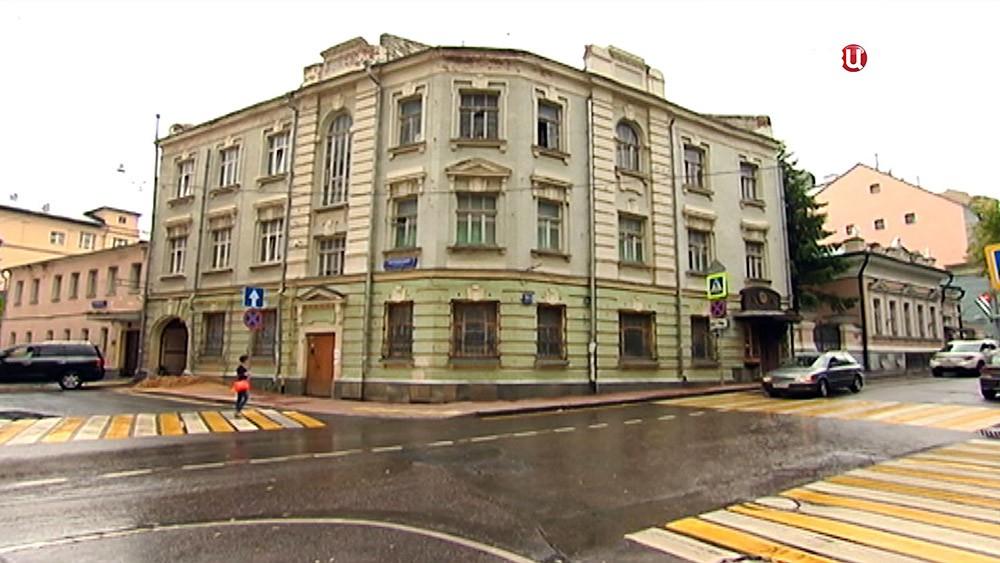 Спорный особняк в Гагаринском переулке