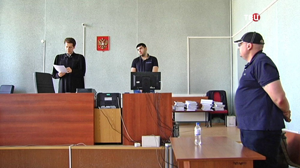 Суд над экс-полицейским Алексеем Алёхином, соучастником захвата квартиры