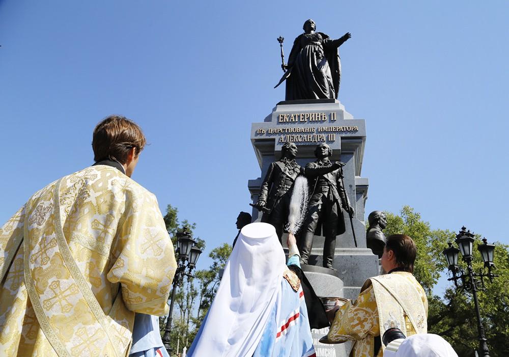 Памятник Екатерине II в Крыму