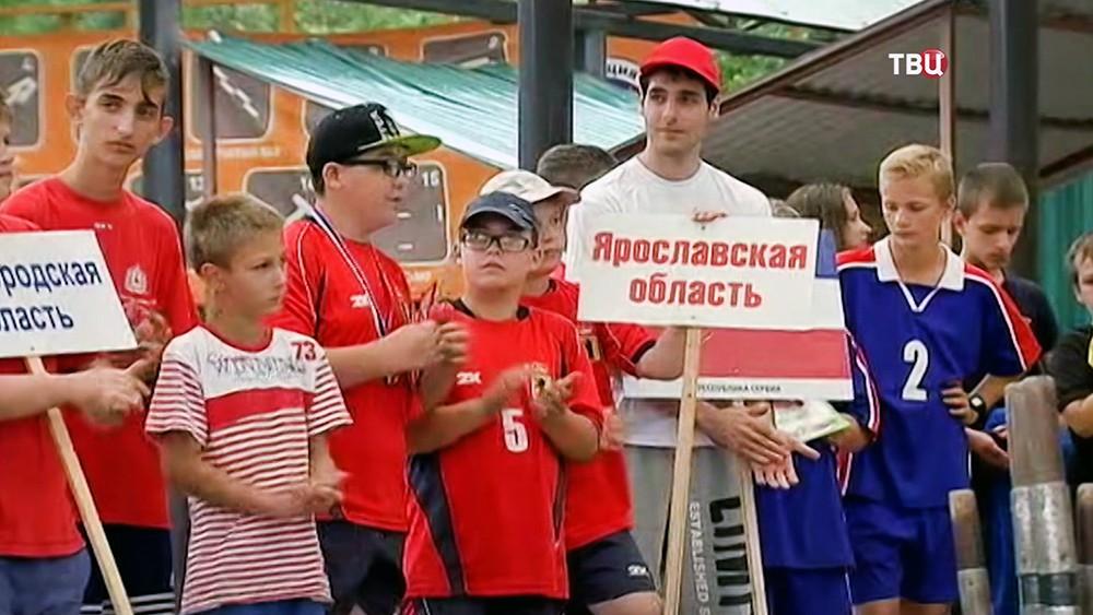 Награждение победителей Открытого кубка Москвы по городошному спорту