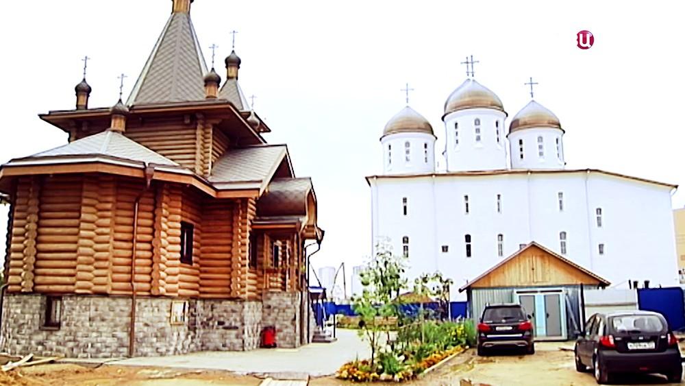 Новый храм на Ходынском поле