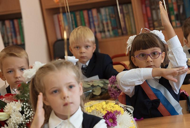 картинки ученики в школе на уроках