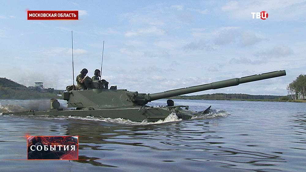 "Самоходная артиллерийская установка с противотанковой пушкой ""Спрут-СД"""