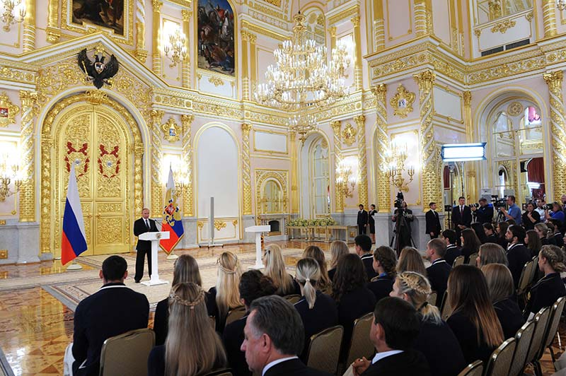 «СборнаяРФ показала выдающийся результат наОИ-2016»— Виталий Мутко
