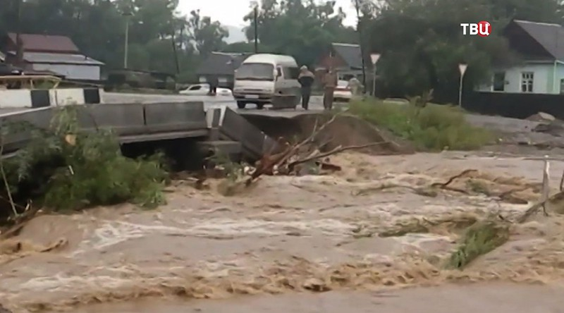 Новый тайфун «Намтеун» пришел вПриморье