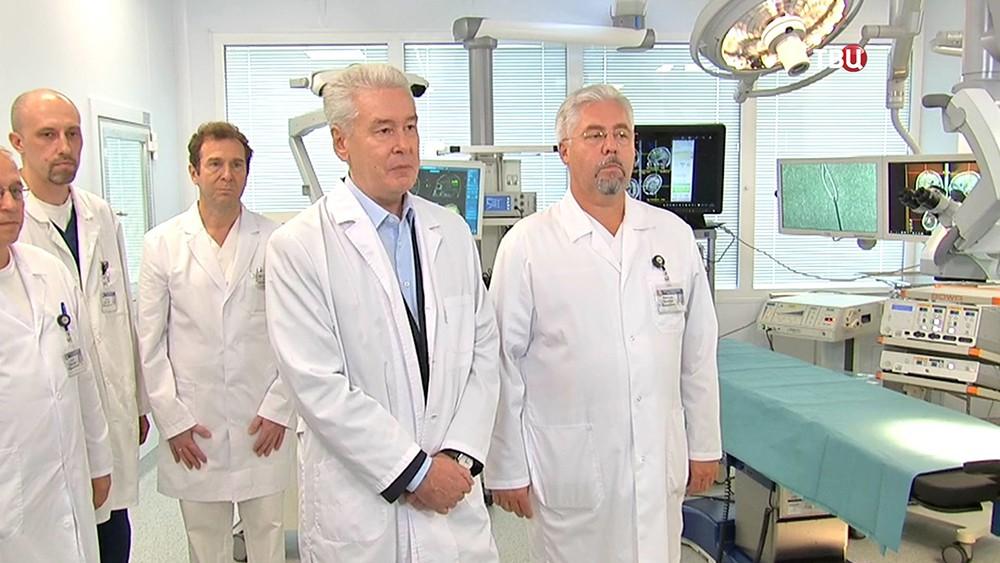 Сергей Собянин посетил Боткинскую больницу