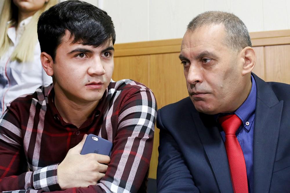 """Абдувахоб Маджидов, устроивший гонки на внедорожнике замглавы """"Лукойла"""" в суде"""
