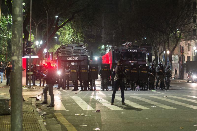 Беспорядки в Сан-Паулу