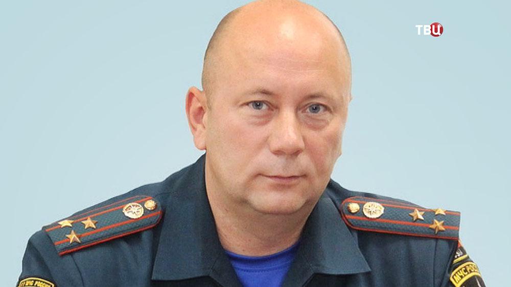 Погибший начальник ГУ МЧС по Приморью Олег Федюр