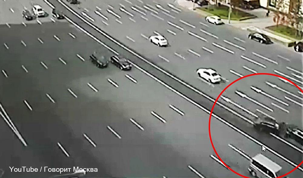 ДТП на Кутузовском проспекте