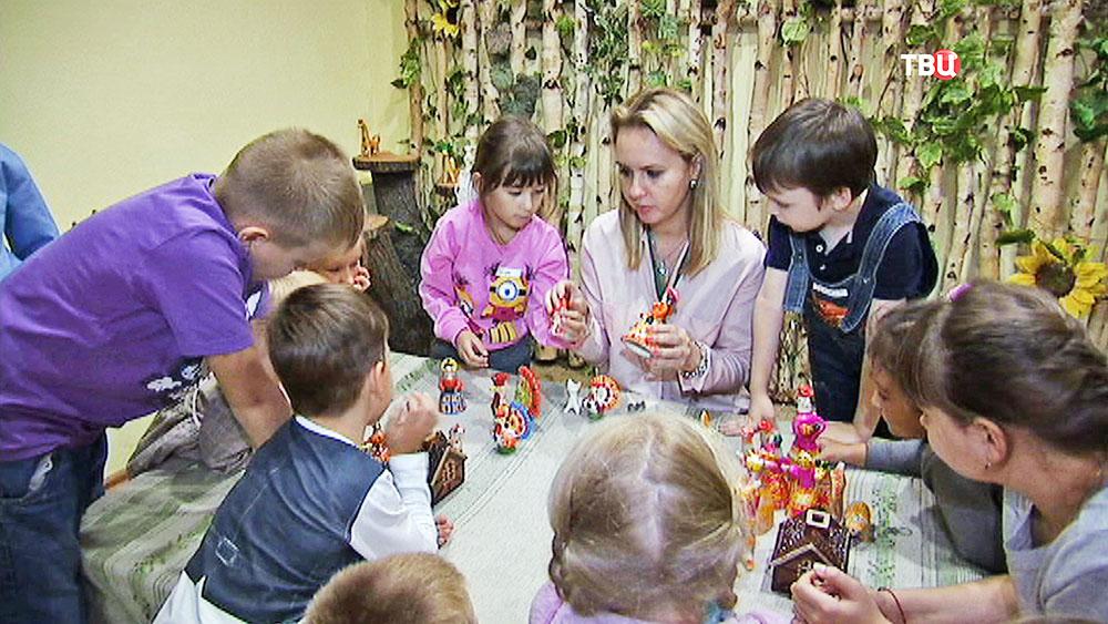 Мастер-класс для детей по глиняной игрушке