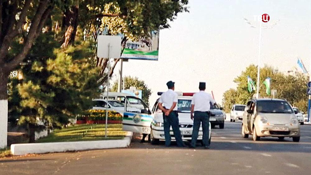 Полиция Узбекистана