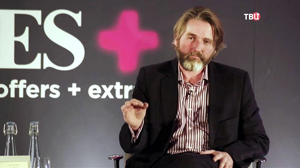 Британский журналист газеты Times Энтони Лойд